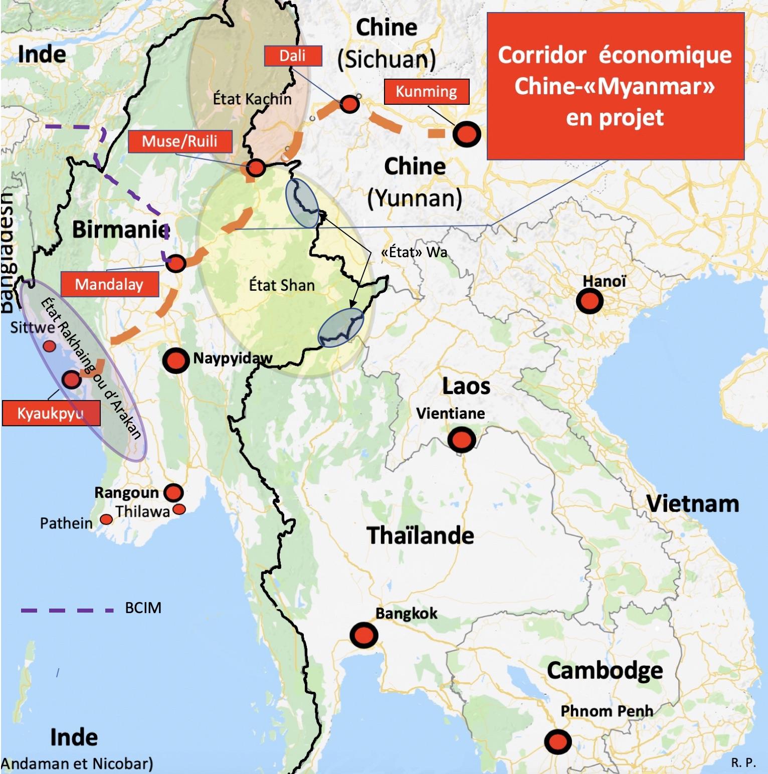 Birmanie – Chine :Un corridor économique semé d'embûches