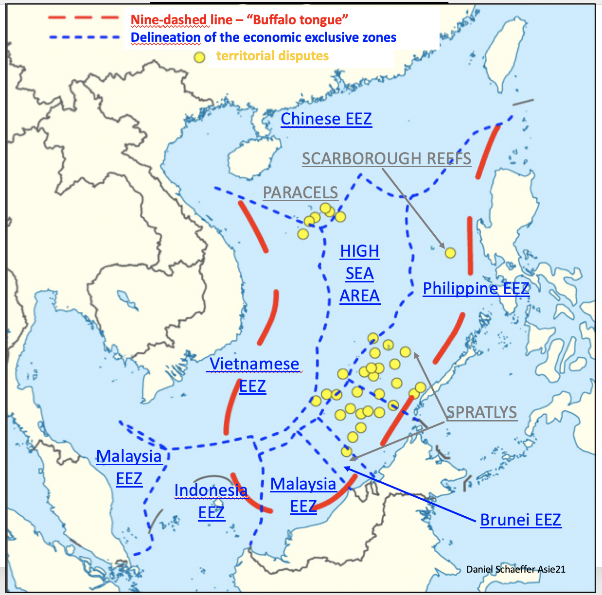 South China Sea: When the ASEAN nations are continuing weaving the Chinese rope that will hang them   當東盟國家繼續編織將吊掛它們的中國繩索