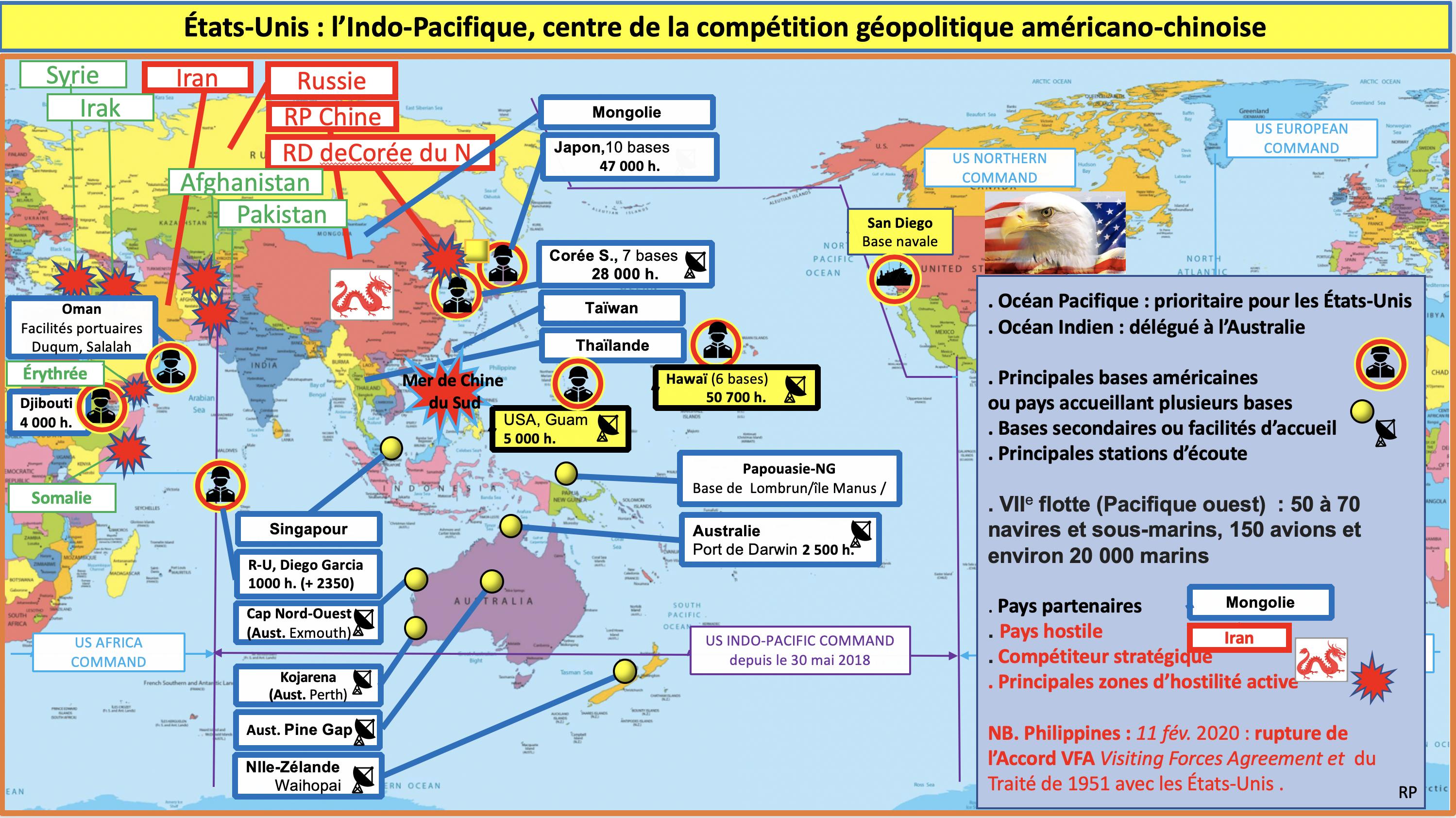 L'Indo-Pacifique, centre de la compétition géopolitique américano-chinoise, Rémi Perelman, Asie21