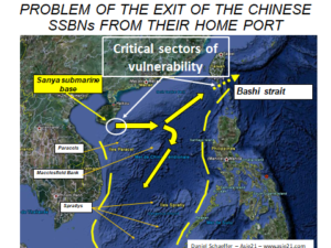 EXIT OF THE CHINESE SSBNs